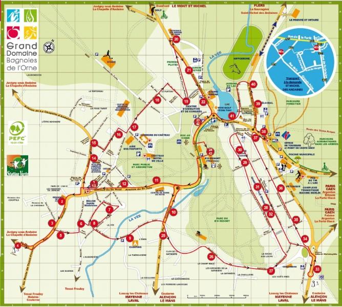 Transport public ville de bagnoles de l 39 orne - Office du tourisme de bagnoles de l orne ...
