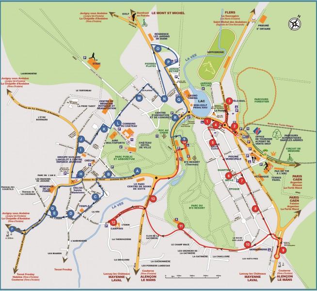 Transport public | Ville de Bagnoles de l'Orne